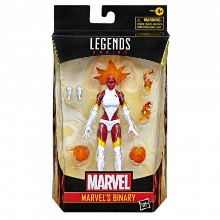 Marvel Legends Binary Action Figure