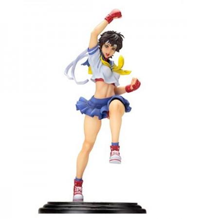 Street Fighter Kotobukiya Bishoujo estatua de Sakura