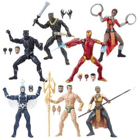 Marvel Legends Black Panther Set of 6