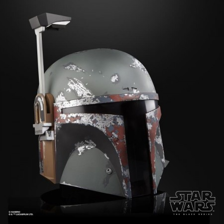 Star Wars The Black Series Boba Fett 1:1 Scale Helmet Replica NON MINT