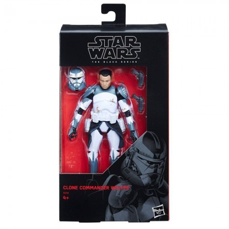Star Wars Black Series Commander Wolffe Exclusive NOT MINT