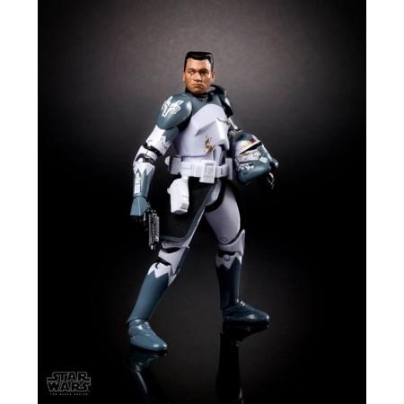 Figura de acción del comandante wolffe de la serie negra de Star Wars