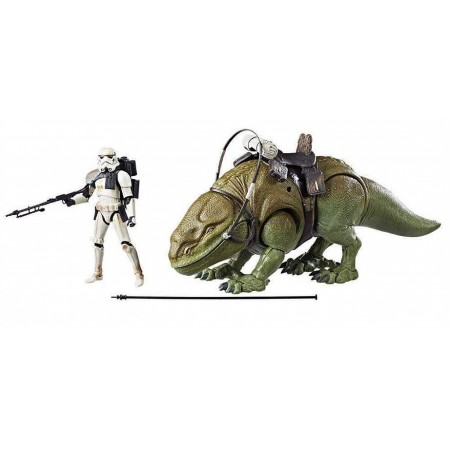 Star Wars The Black Series Dewback & Sandtrooper