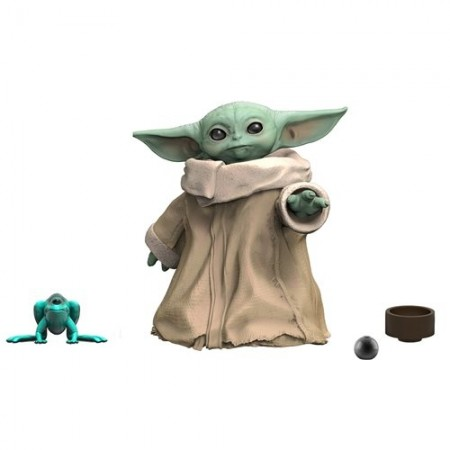 Star Wars La Serie Negra Baby Yoda La Figura de Acción Infantil