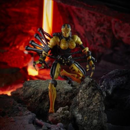 Transformers War For Cybertron Kingdom Deluxe Blackarachnia