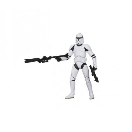Soldado clon de Star Wars serie negra 6 pulgadas