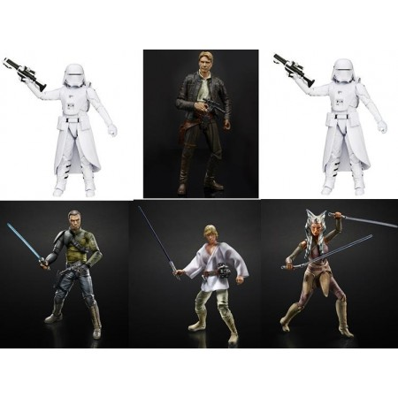 Star Wars Black Series Wave 2 2016 Case of 6
