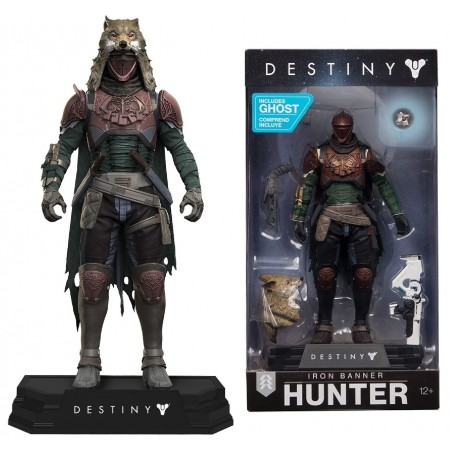 McFarlane Colour Tops Destiny Iron Banner Hunter Figure