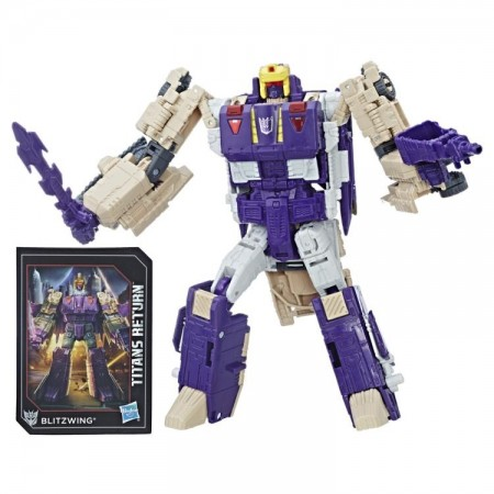 Transformers Titans Return Voyager Blitzwing