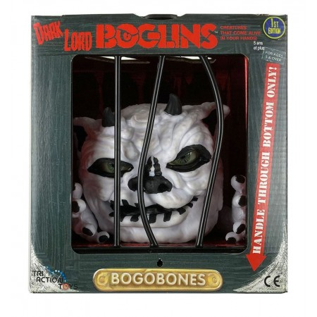 Boglins Dark Lord Bog O Bones ( Glow in the Dark )