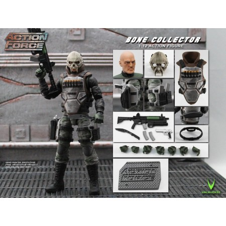 Action Force Bone Collector Action Figure