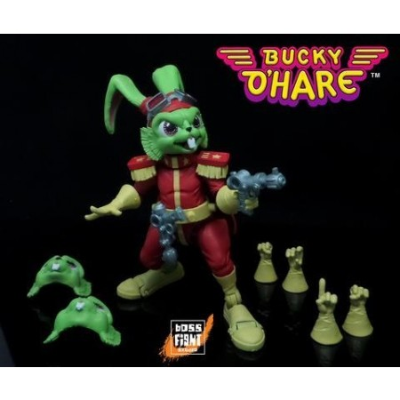 Bucky O'Hare 4'' Bucky Action Figure