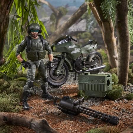 G.I. Joe Classified Breaker and R.A.M Motorcycle