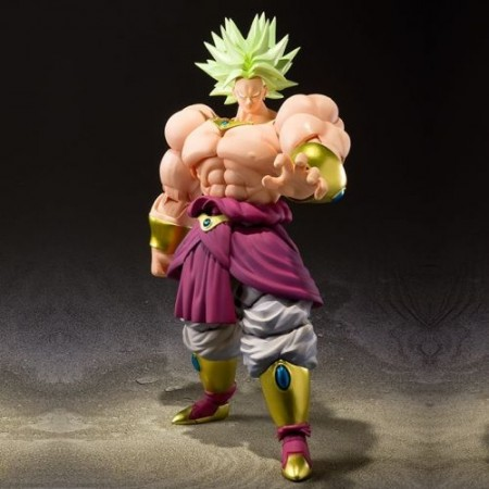 Dragon Ball Broly S.H. Figuarts color edición exclusiva
