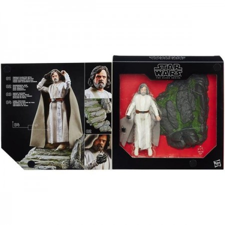 Star Wars The Black Series Luke On Ahch-To Island