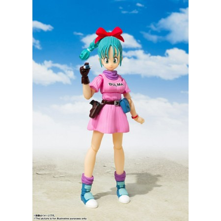 Dragon Ball S.H Figuarts Bulma Beginning Of A Great Adventure