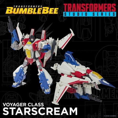 Transformers Studio Series Voyager Bumblebee Movie Starscream