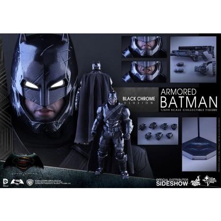 Hot Toys 1:6 BvS Armoured Batman Black Chrome Edition