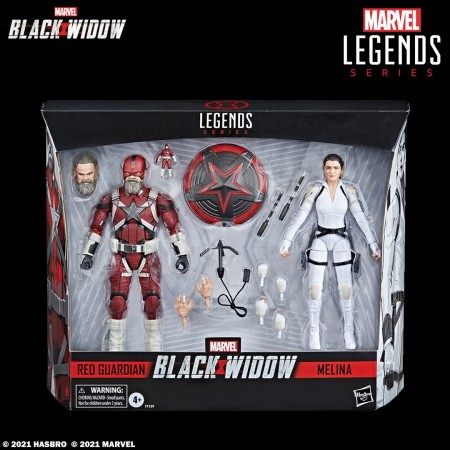 Marvel Legends Black Widow Movie Red Guardian and Melina 2 Pack