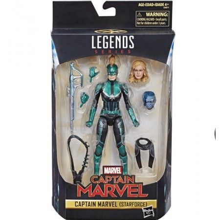 Marvel Legends Captain Marvel Star Force Exclusive