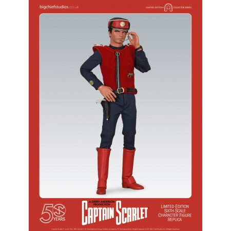 Captain Scarlet Character Replica Figures Big Chief studios