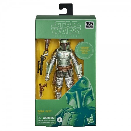 Star Wars Black Series Carbonized Boba Fett Action Figure 1 PER CUSTOMER