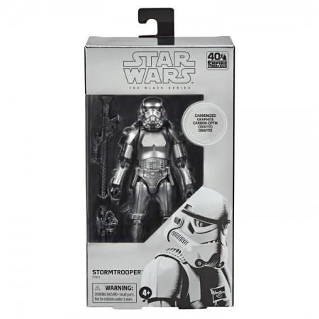 Figura de acción de Star Wars Black Series Carbonized Stormtrooper