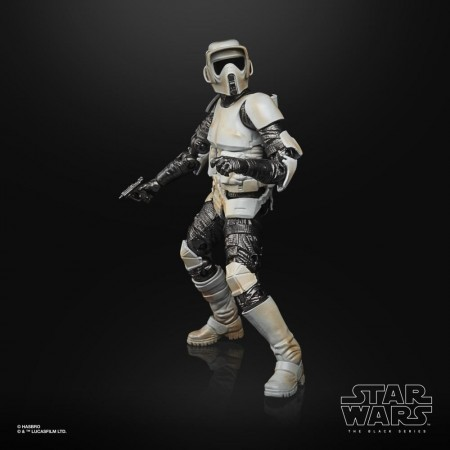 Star Wars The Black Series Scout Trooper Carbonized Action Figure