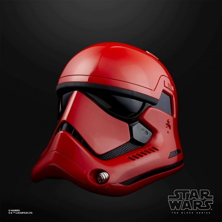 Star Wars The Black Series Captain Cardinal Electronic Helmet