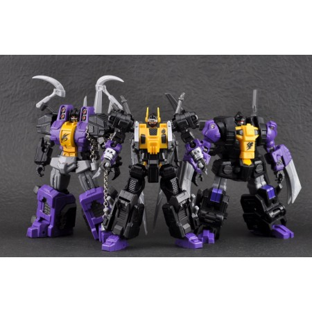 Fansproject Causality Set of 3 Stormbomb, Thundershred & Backfiery