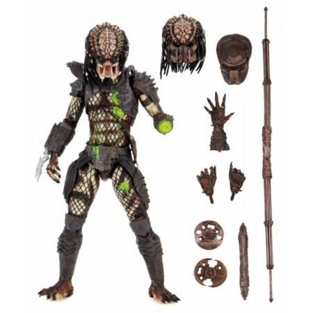 NECA Predator 2 Battle Damaged Ultimate City Hunter Predator