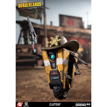 McFarlane Colour Tops Destiny Border Lands Claptrap Deluxe Set