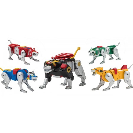 Playmates Classic Voltron 84 Set Of 5