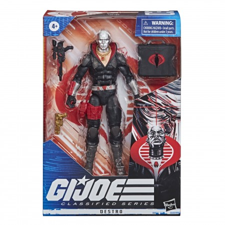 G.I. Joe Classified Destro Action Figure