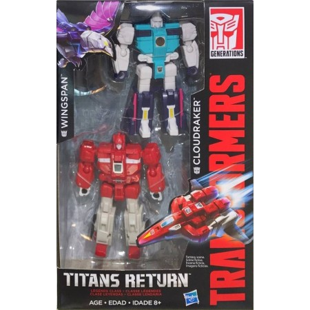 Transformers Titans Return Clone 2 Pack Wingspan & Cloudraker
