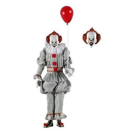 IT 2017 Pennywise 8 Inch Clothed Action Figure
