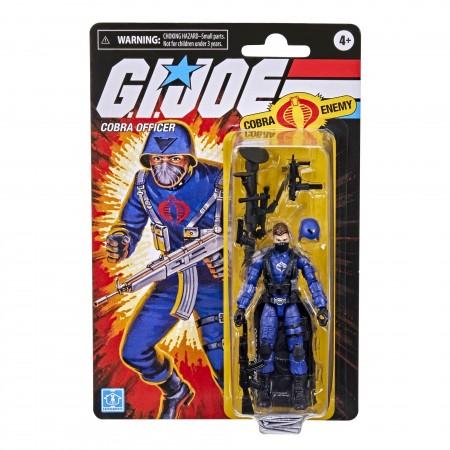 G.I. Joe Retro 3.75 Inch Cobra Officer Action Figure