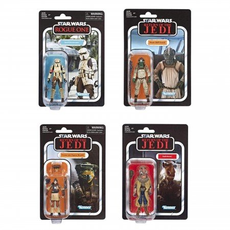 Star Wars Vintage Collection Wave 4 Set of 4