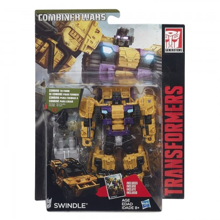 Transformers Combiner Wars Deluxe Swindle