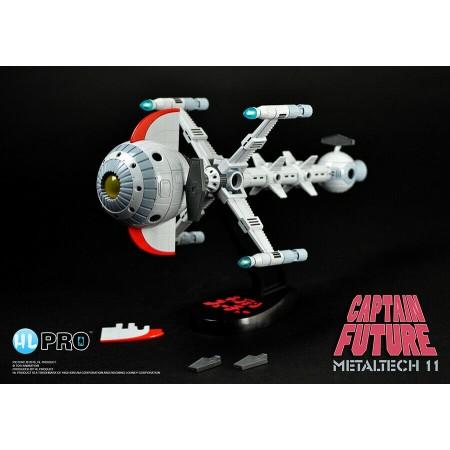 Hi Pro Metaltech Captain Future Comet Vehicle