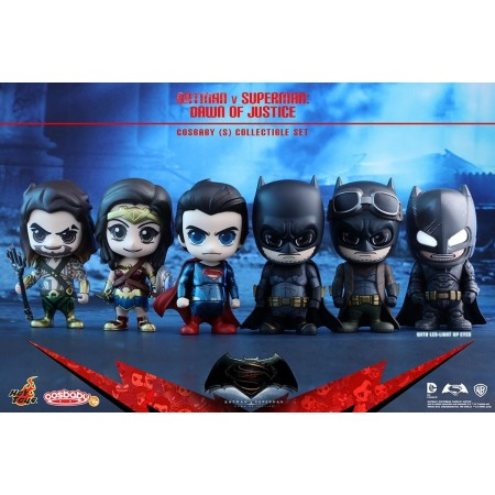 Hot Toys Batman Vs Superman Cosbaby Set of 6