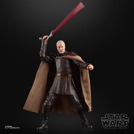 Star Wars The Black Series Count Dooku Action Figure