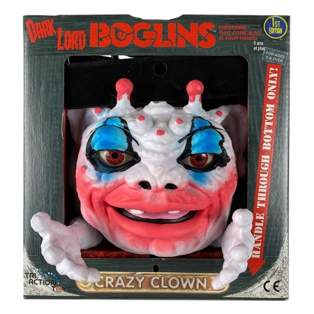 Boglins Dark Lord Crazy Clown ( Glow in the Dark )