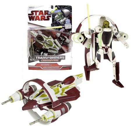 Star Wars Crossovers Transformers Kit Fisto