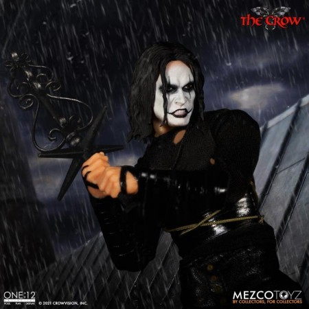 Mezco One:12 Collective The Crow 6 Inch Action Figure