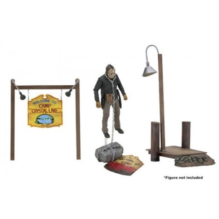 NECA Friday The 13th Camp Crystal Lake Accessory Set
