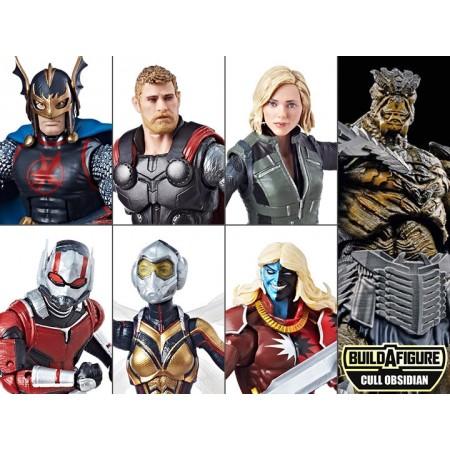 Marvel Legends Cull Obsidian BAF Wave Set of 6 NOT MINT - 1 PER CUSTOMER