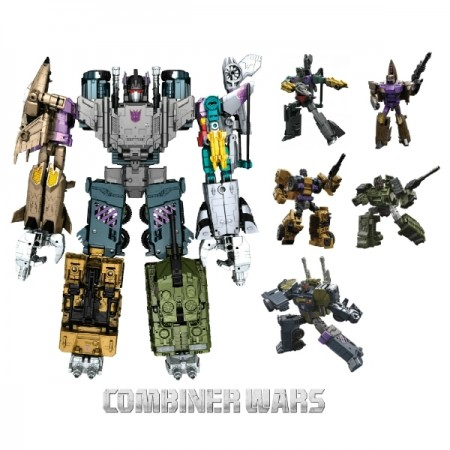 Transformers Combiner Wars Bruticus Set of 5