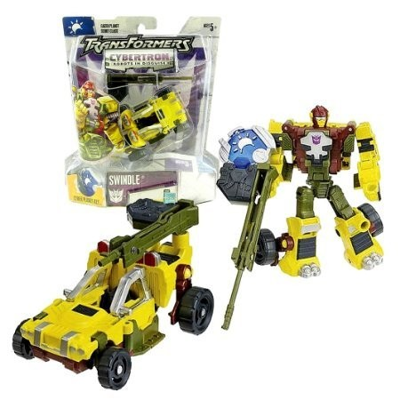 Transformers Cybertron Scout Class Swindle