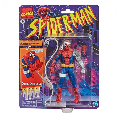 Marvel Legends Spider-Man Retro Collection Cyborg Spider-Man